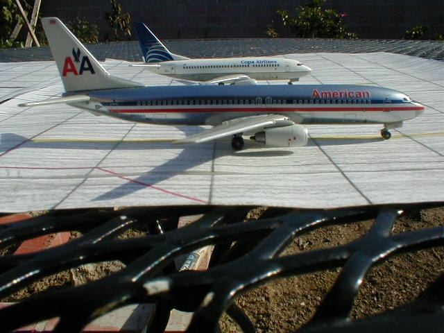 Dragon Wings' American Airlines 737-800