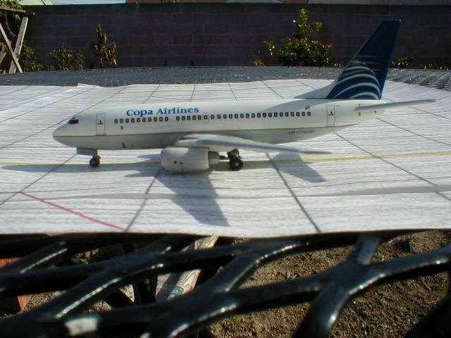 Dragon Wings' COPA Airlines 737-700