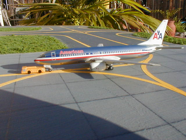 American flight 941 arrives from Miami.