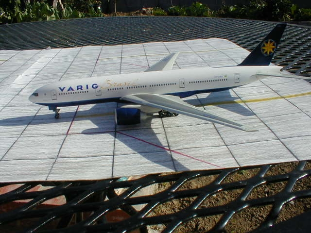 Dragon Wings' VARIG 777-200